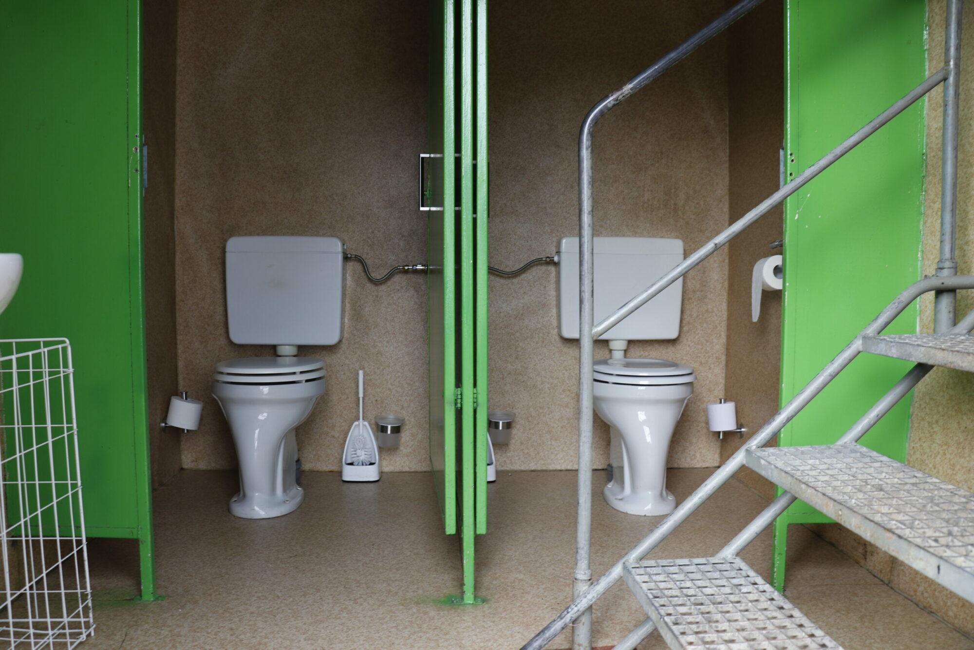 WC Damen Kabinen